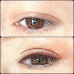 Eye line dégradé tatouage